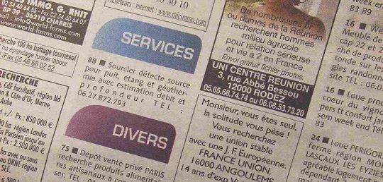 Annonce gratuite sur paris